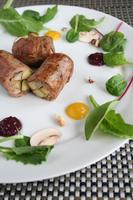 夏野菜のポークロール